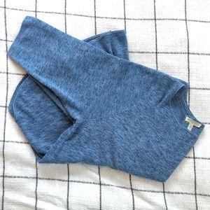 Eileen Fisher heather blue cotton sweater - 2X
